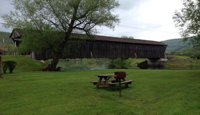 Downsville Covered Bridge