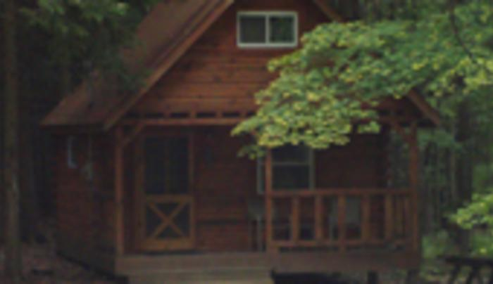 Evergreen Trails Campground Cabins