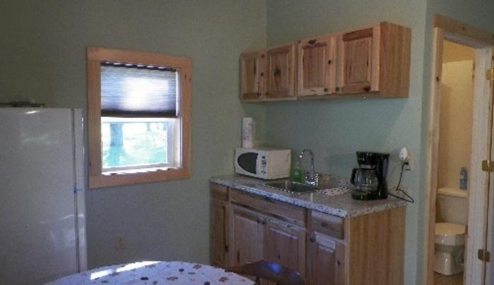 Feeder Creek Lodge Kitchen