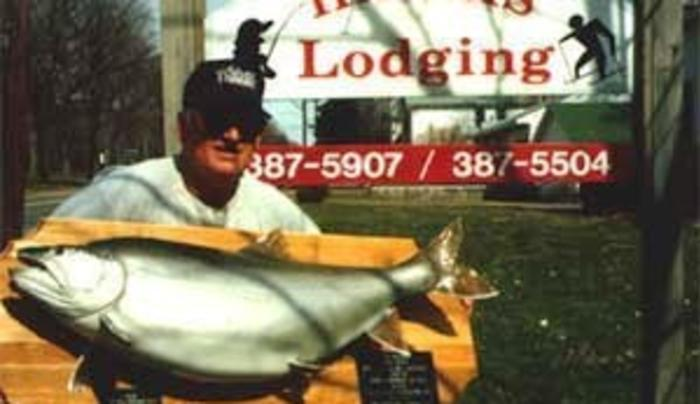 Harris Lodging Trophy Fish