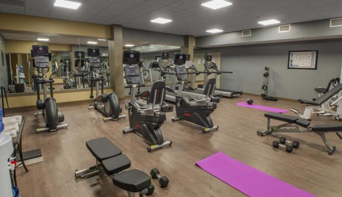 Well- Equipped Fitness Center