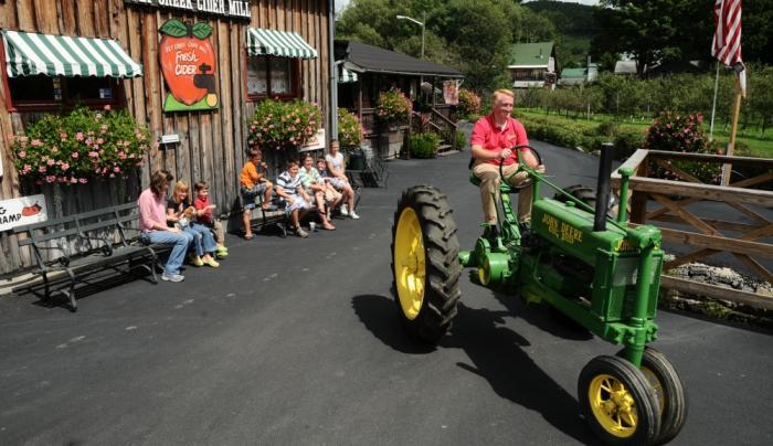 Bill on Tractor