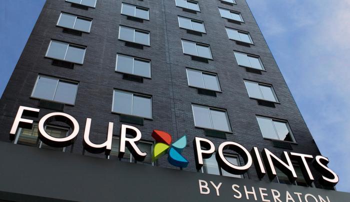 Four points exterior