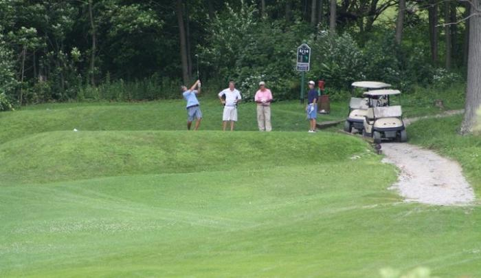 Golfers @ Hoosick Falls Golf Course