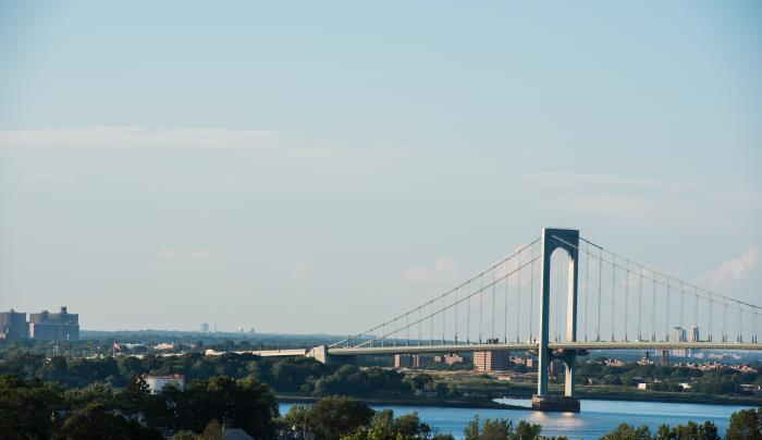 View of Whitestone Bridge