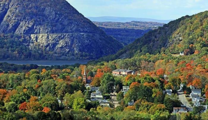 View of Cold Spring from Above