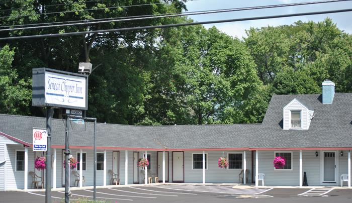 A quaint motel in downtown Watkins Glen