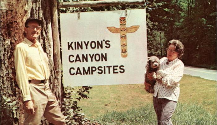 Vintage Kinyon Campsite