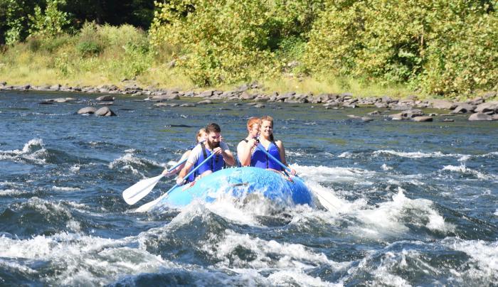 Kittatinny River Rafting!