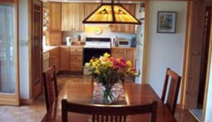 Lakeview B&B kitchen