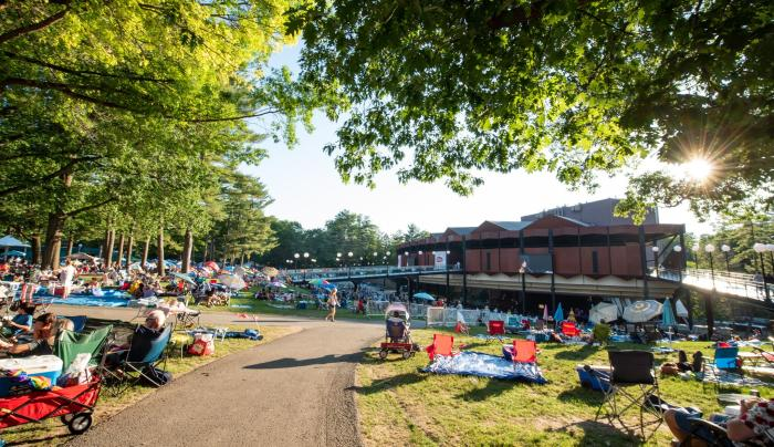 SPAC Lawn at Freihofer's Saratoga Jazz Festival by Shawn LaChapelle