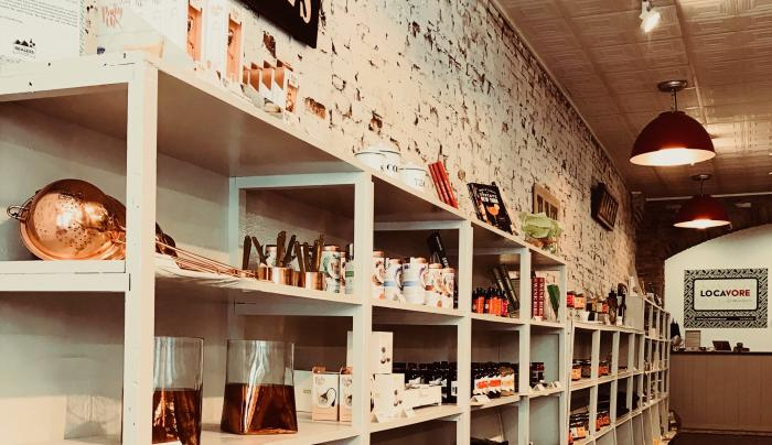 View of store floor at Locavore (2)