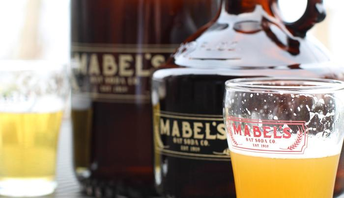 Mabel Craft Beer in a glass