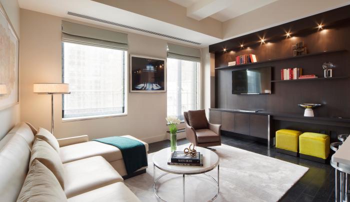 living room inside The Marmara Park Avenue