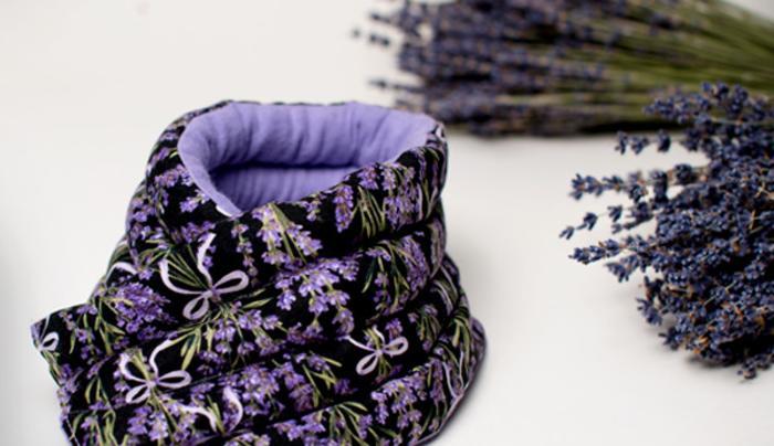 Lavender Neckwrap