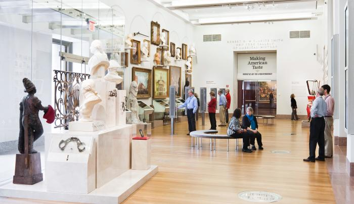 Museum interior of New-York Historical Society