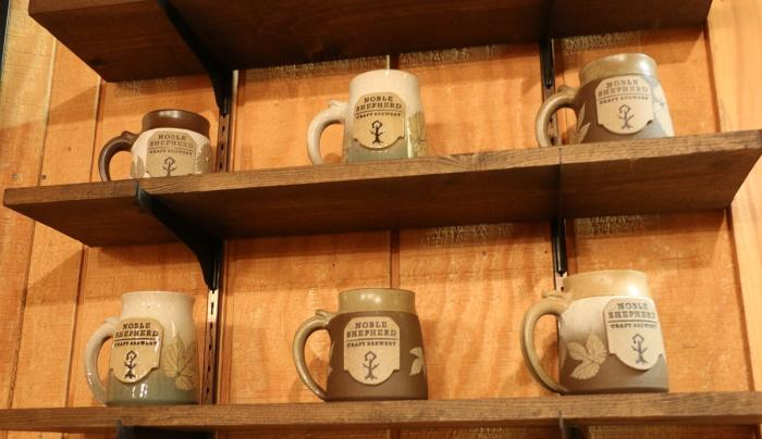 noble-shepherd-craft-brewery-bloomfield-interior-mugs