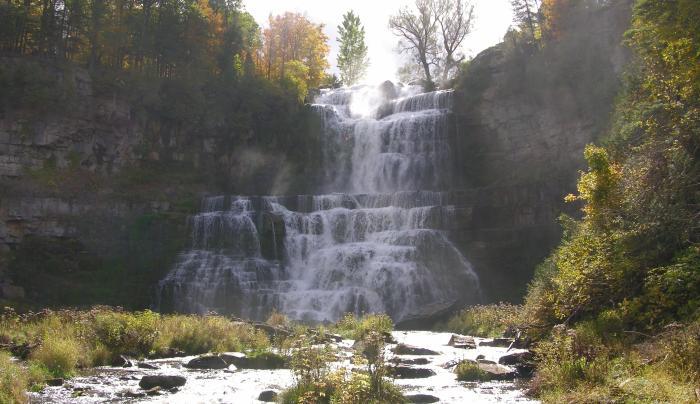 Chittenango Falls Fall