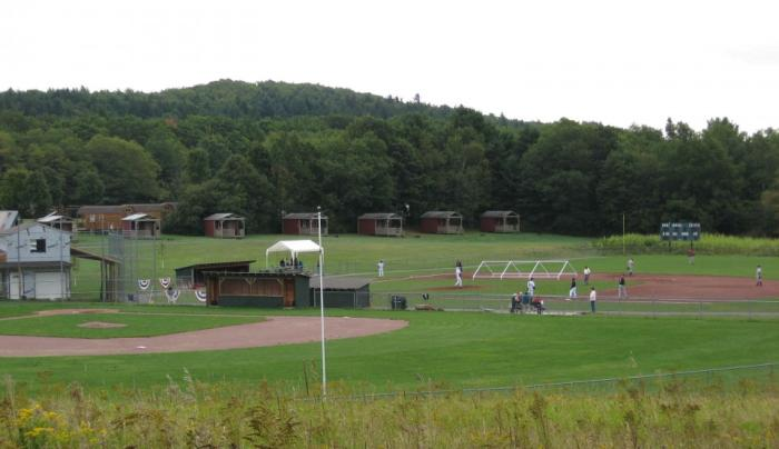 Cooperstown Beaver Valley Campground Baseball Fields