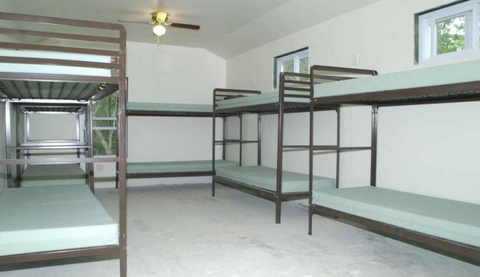 Cooperstown Beaver Valley Campground Baseball Bunks