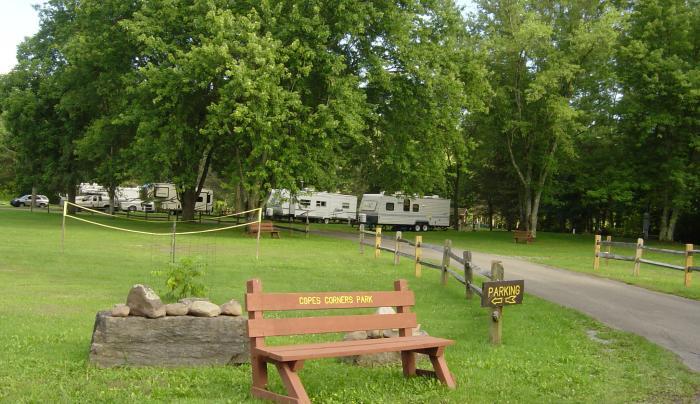 Copes Corner Campground area picture