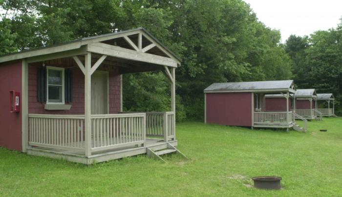 Cooperstown Beaver Valley Campground Cabins