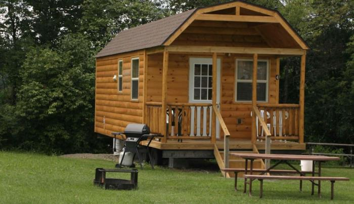 Cooperstown Beaver Valley Campground Cabin