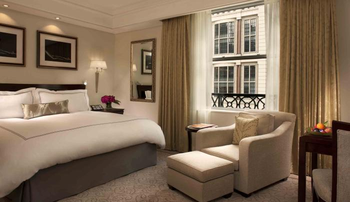 grand luxe room inside The Peninsula New York