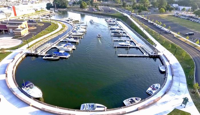 Port Marina Drone