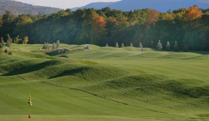 Scenic view of Resevoir Creek's Golf Course in Naples