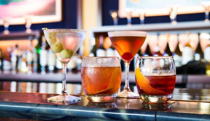 Rock Center Cafe, cocktails