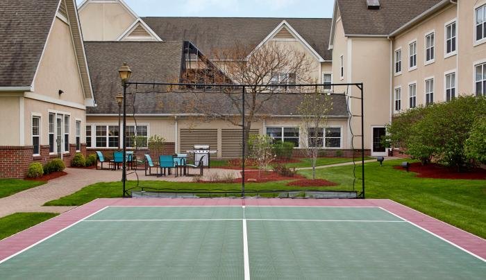 Sport Court & Patio