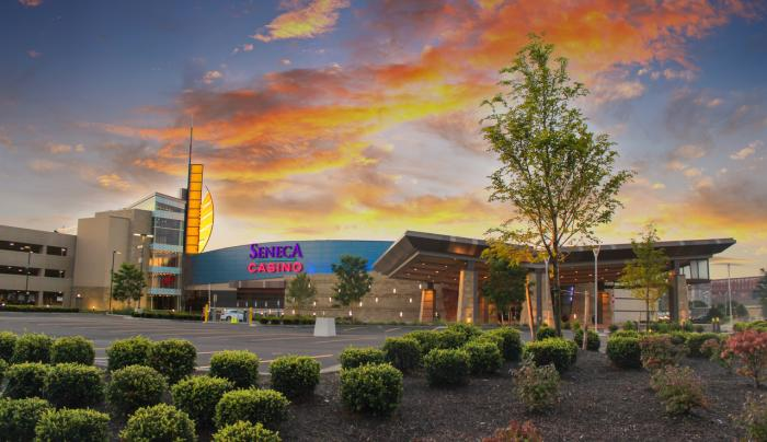Exterior Photo of Seneca Buffalo Creek Casino