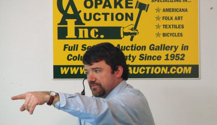 Copake Auction House Auctioneer