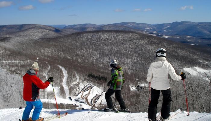 Skiing Family - Plattekill