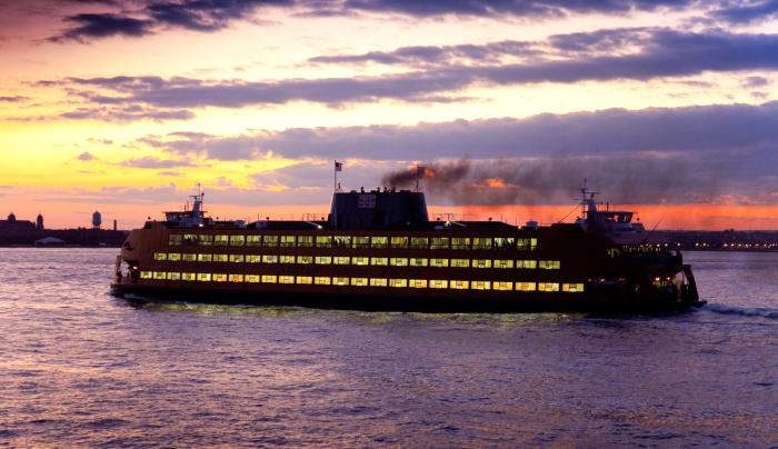 Staten Island Ferry - Photo by Malcolm Brown - Courtesy of NYC & Co