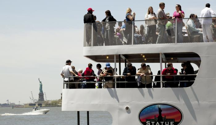 Statue Cruises Battery Park_Photo by Marley White - Courtesy of NYC & Co