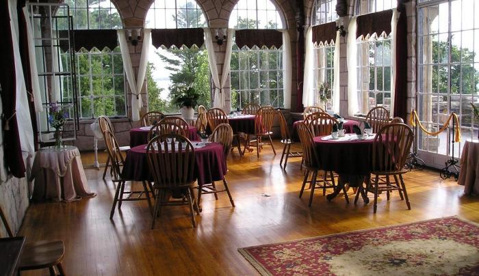 Singer Castle Tea Room