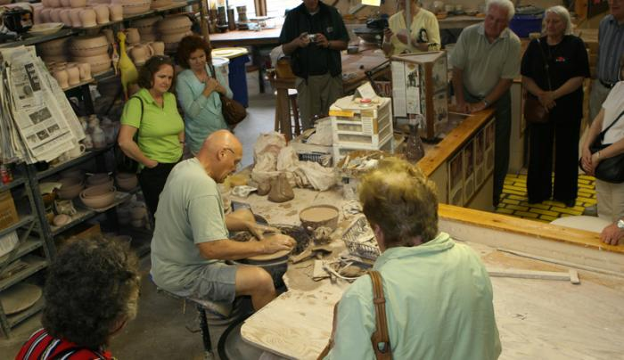 wizard-of-clay-bloomfield-pottery-wheel-group
