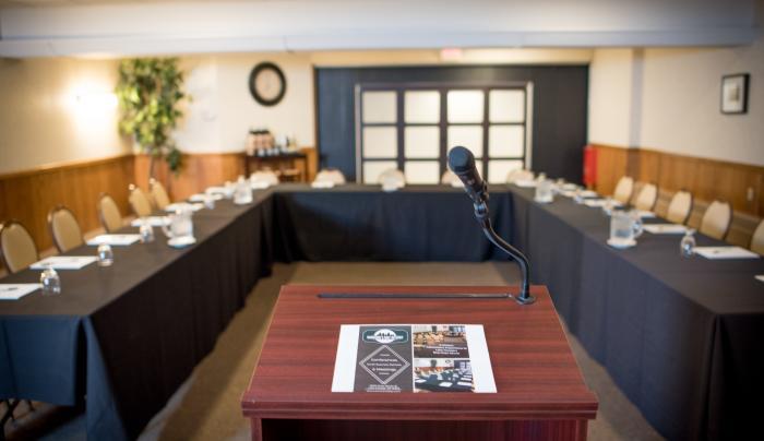 Adirondack Room- Conference Layout