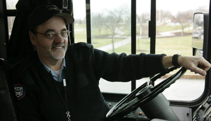 friendly welcoming bus drivers