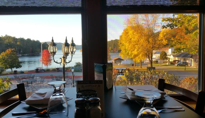Autumn View from The View Restaurant