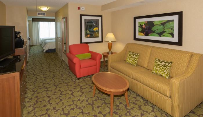 Jr Suite Living Space