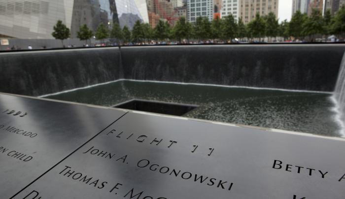 9-11 Memorial, daytime