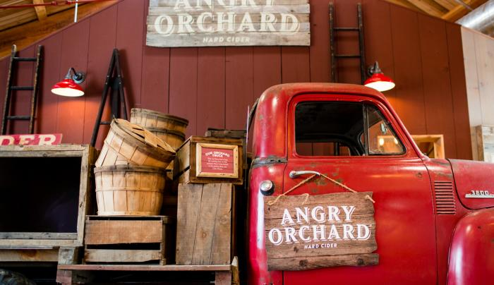 Angry Orchard Farm Truck