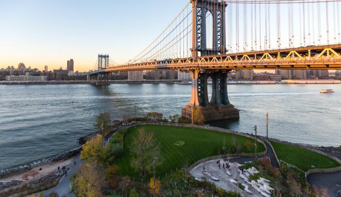 Brooklyn Bridge Park - Photo by Julienne Schaer
