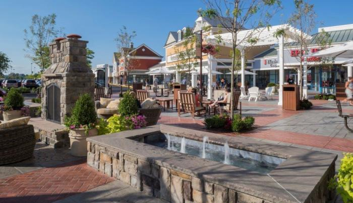 Tanger Outlet Center - Photo Courtesy of Tanger Outlet