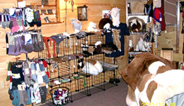Alpaca fiber products