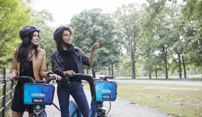 Touring Central Park