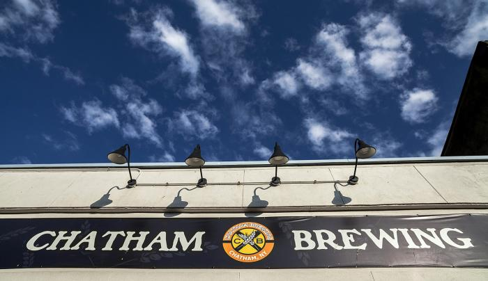 Chatham Brewing - sign